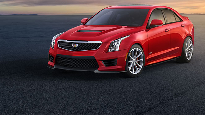 2016 Cadillac ATS-V Sedan Manual Review - A Superb Little Brother