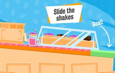 Slide the Shakes Review - Milkshakes Anyone?