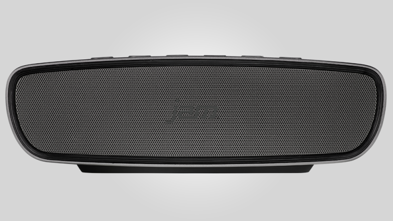 The Jam Heavy Metal HX-P920 enters the wireless Bluetooth speaker sector, which is already a very crowded place to be. However, what immediately sets this apart from the rest is, well, just about everything about it. The sound and build quality are both top-notch, and what's more is that all of its glory is placed in a low price point. With the Jam Heavy Metal HX-P920, You Get Good Sound, Good Build Quality, and it Won't Break Banks The Jam Heavy Metal HX-P920 is about as small as the tons of other Bluetooth speakers on the market. It is portable enough but it's not a device that you can put in your pocket. However, it can easily fit inside cabin baggage or inside your backpack when you want to accompany it around with you on your travels. At its low price point, you would expect something of a cheaply made device as you might immediately expect that it is made out of cheap plastic. If this is what you're thinking about, then you're wrong; the Jam HX-P920, just like the Heavy Metal in its moniker, is encased in aluminum. It has a one-piece curved frame, front and rear grilles, and the button controls are located at its top. All of these are metallic as well. Of course, since it is made out of all that metal, the speaker weighs quite the hefty 600-grams. In order to keep the price down as low as possible, the company has opted aptX and NFC features out. Nevertheless, you would still be able to get high quality Bluetooth streaming. The second that you hook up your phone into it, you can immediately throw it some tunes. While NFC would make it a much better device, it is not a total loss, especially for the money that you would have to pay for it. The only other extra feature that this speaker has is a microphone, which of course would allow you to take calls. However, it is advised not to use it as a conference call speaker as apart from everything else about the device, that aspect is of low quality. Voice clarity is quite poor, and you might even find yourself just reaching for your phone instead of talking through this speaker. Finally, there's the sound quality, wherein the Jam Heavy Metal HX-P920 is still able to score high marks despite its low price point. For a small Bluetooth speaker, it has the best driver setup that money can buy. It has two small active drivers, as well as a pair of matched passive radiators. The audio output is that you can get a surprisingly decent level of bass, an above average volume, and next-level sound performance.