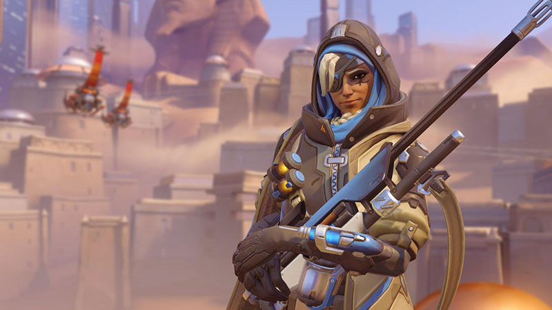Overwatch - Meet the Healing Sniper, Ana