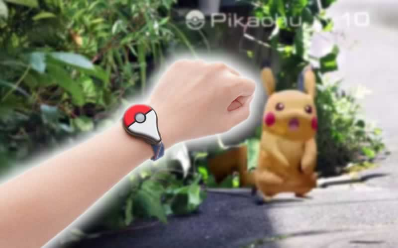 Pokemon Go Plus Wrist Band