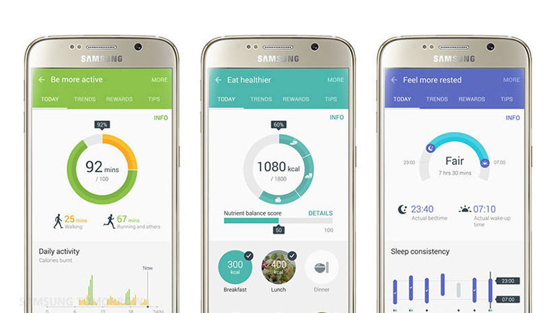 Samsung - Update to S Health App Makes Working Out More Fun