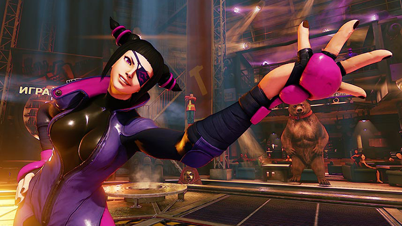 Street Fighter V - Juri is Bringing Feng Shui Into the Fight, Soon