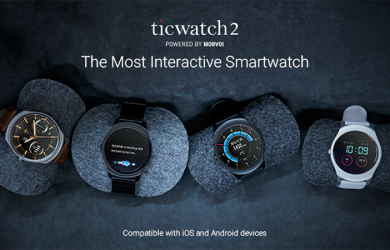 TicWatch 2 - A Surprising Low-Cost Smartwatch From China