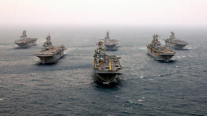 US Navy - Ordered to Lower Sonar Levels to Aid Marine Wildlife