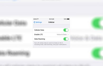 iPhone - How to Turn Off Your Cellular Data