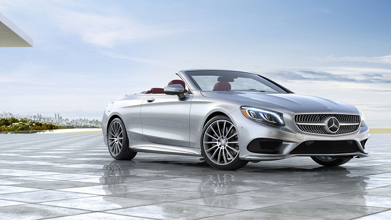 2017 Mercedes-Benz S550 Cabriolet Review - One Tough Competitor