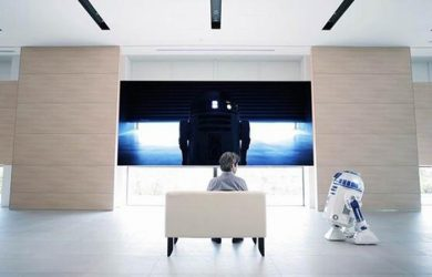 Haier R2-D2 Refrigerator - From a Galaxy Far, Far Away