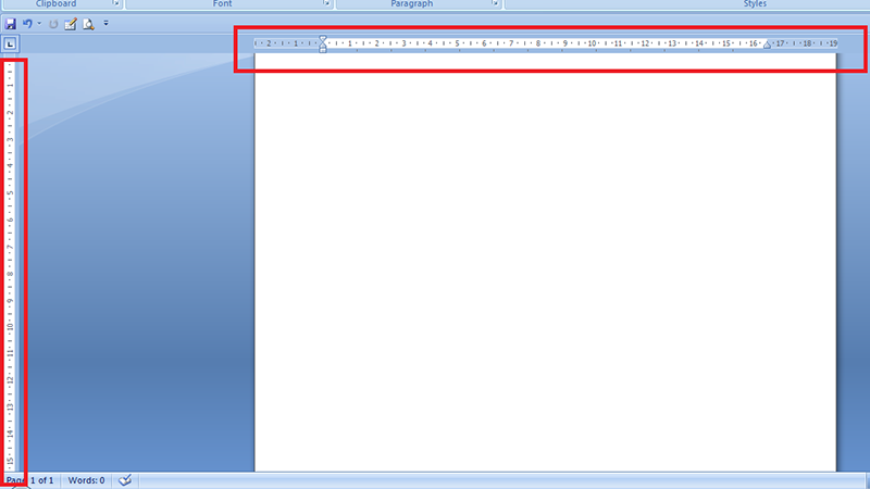 Microsoft Word - How to Show or Hide Rulers