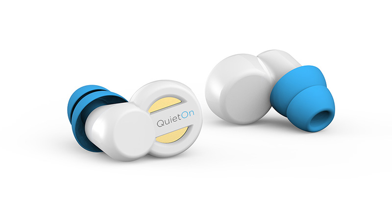 QuietOn - Earplugs With Active Noise Cancellation