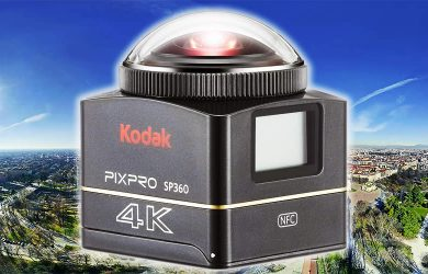 Kodak Pixpro SP360 4K 360 Camera Review