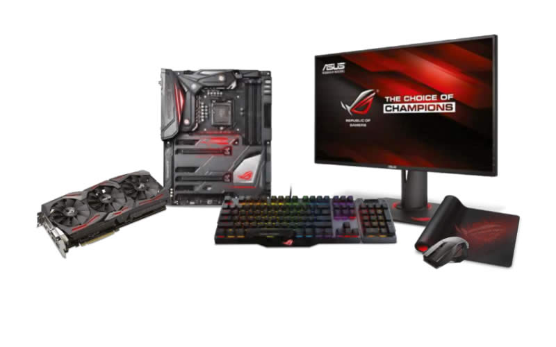Asus Republic of Gamers Imperator - A Do It Your Self PC