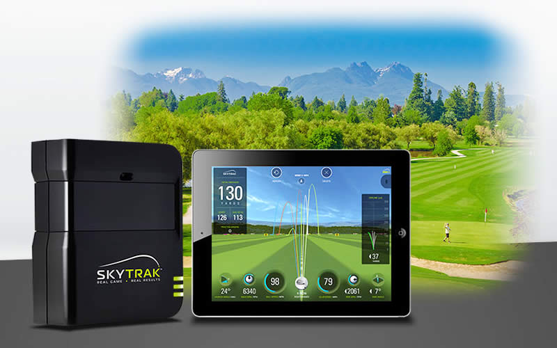 Skytrak Golf Simulator Review - Practice Virtual Golf At Home