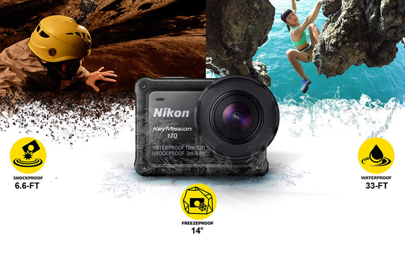 Nikon KeyMission 170 Action Camera Review