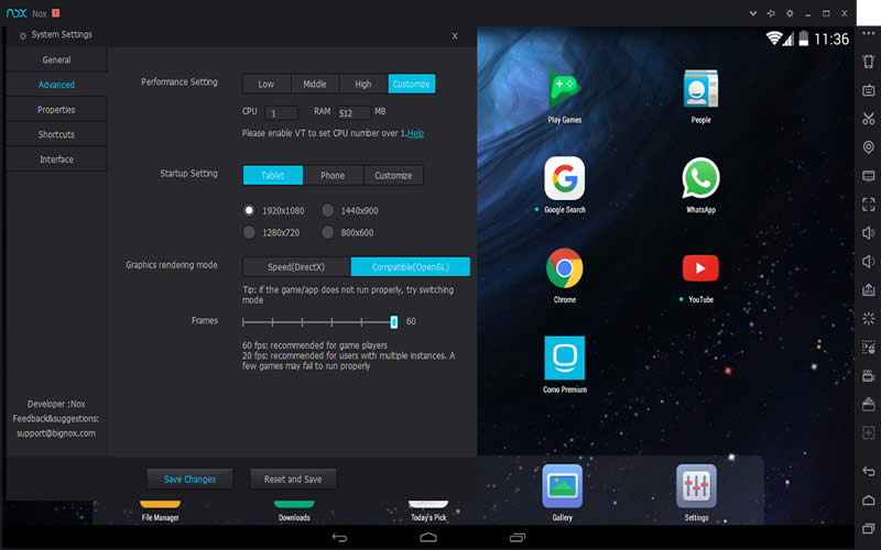 download nox player android