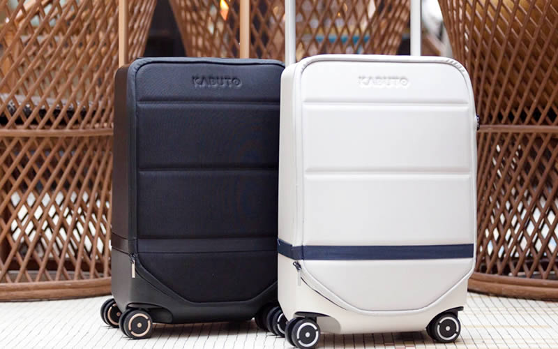 Kabuto is building smart suitcases for geeks