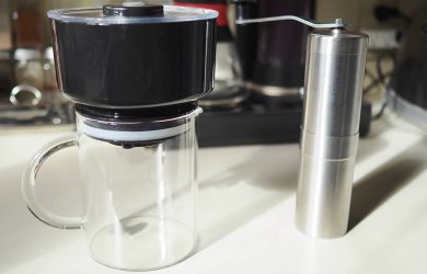 The FrankOne is a simple and portable coffee brewing gadget