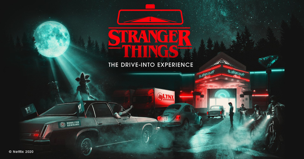 A drive-through 'Stranger Things' experience in LA is coming in October