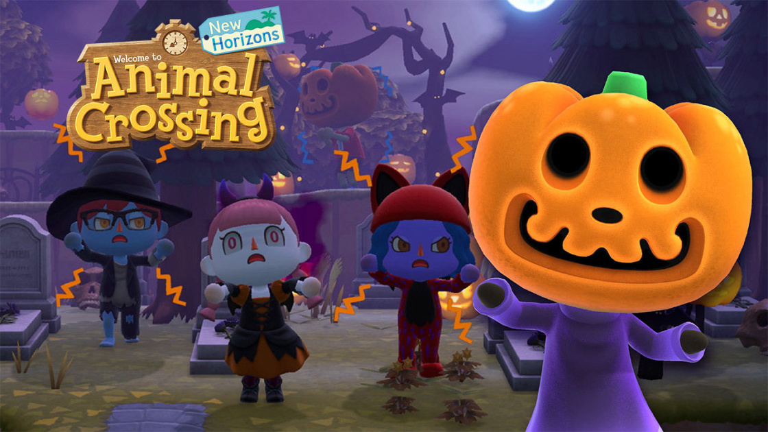'Animal Crossing: New Horizons' is getting spooky for Halloween