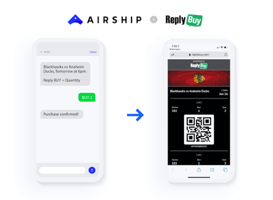 Airship acquires SMS commerce company ReplyBuy –