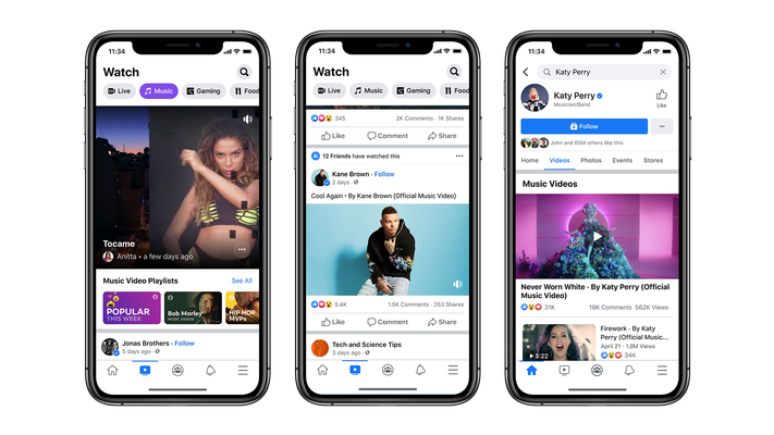 Facebook Watch is getting 1.25B visitors each month –