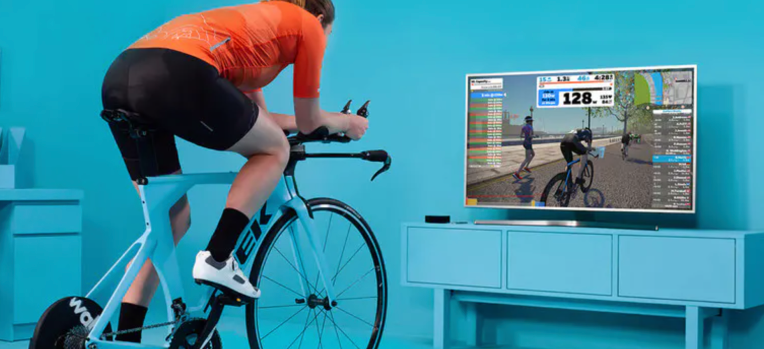 Zwift, maker of a popular indoor training app, just landed a whopping $450 million in funding led by KKR –