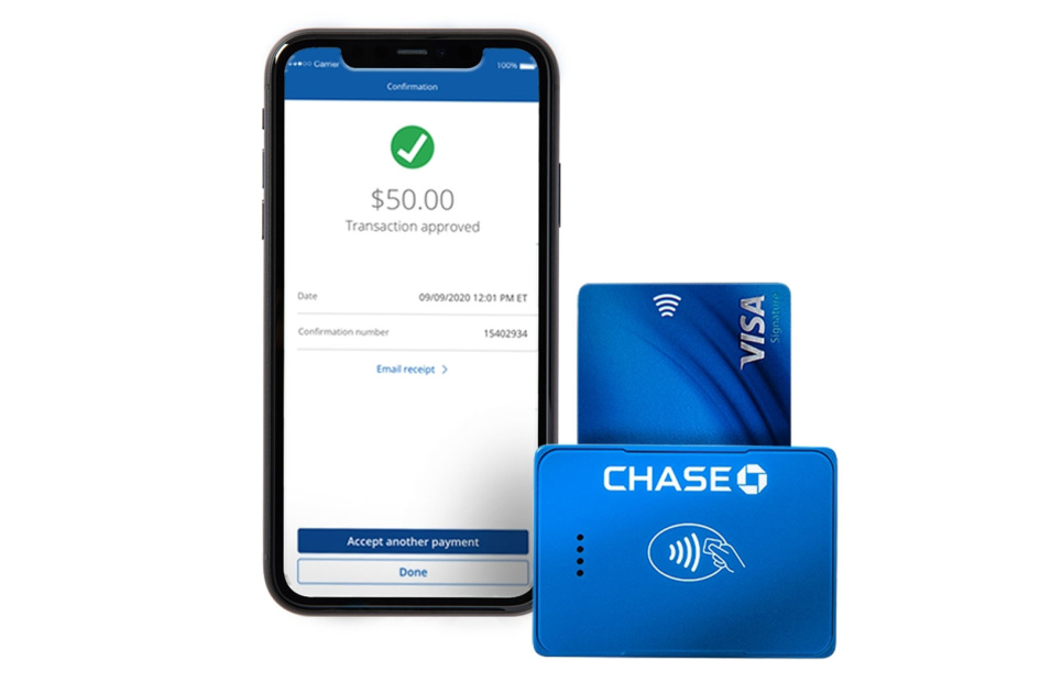Chase takes on Square with its own contactless payment system