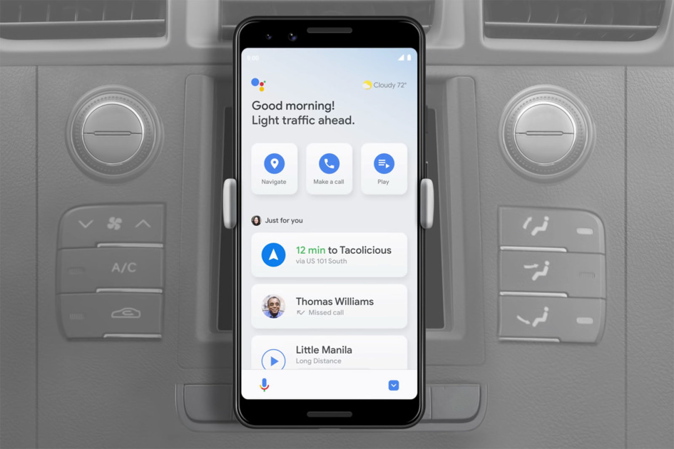 Google Assistant's driving mode finally arrives on Android