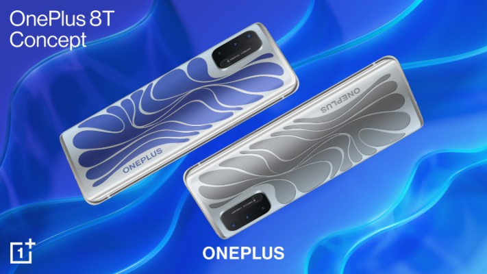 OnePlus' latest concept phone changes color to 'breathe' with the user –