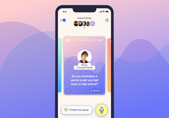 Cappuccino lets you share short, intimate audio stories with your friends –