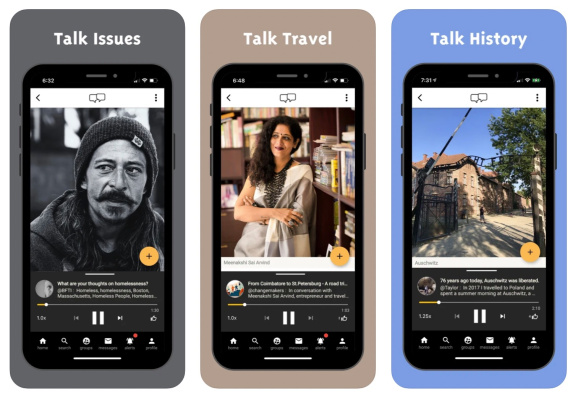 Swell launches its app for asynchronous voice conversations –
