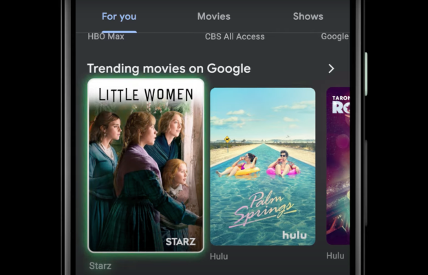 Google TV mobile app redesign adds new services and recommendations –