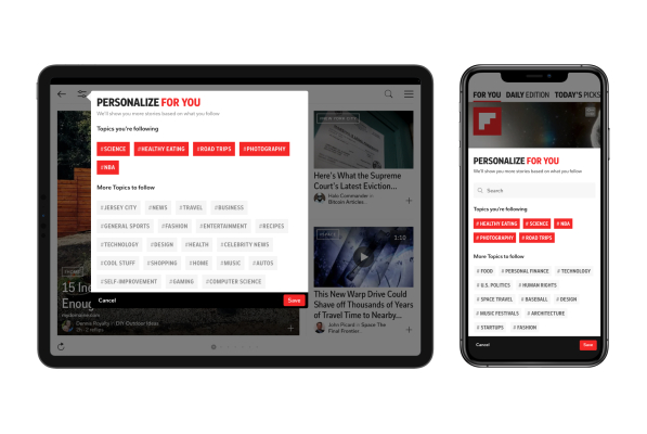 Flipboard rolls out newsfeed personalization tools to save you from doomscrolling –