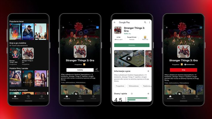 Netflix begins testing mobile games in its Android app in Poland –