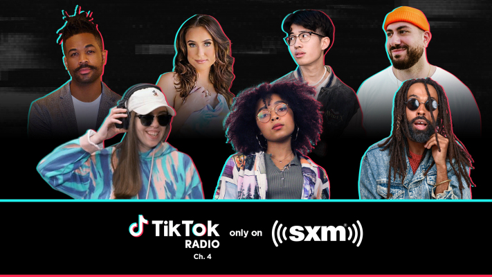 SiriusXM launches 'TikTok Radio,' a music channel featuring viral hits hosted by TikTok stars –