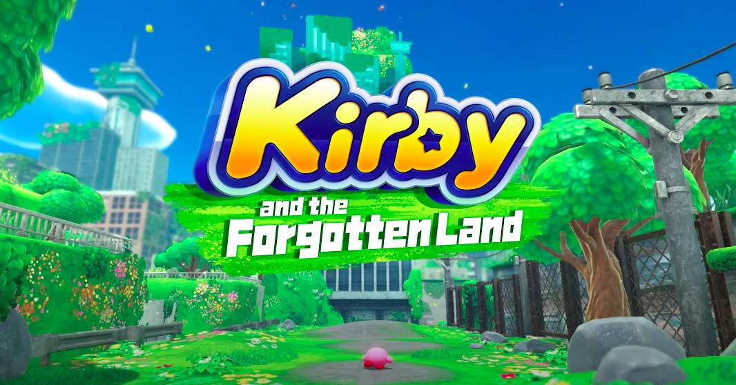 Kirby and the Forgotten Land is coming to the Switch next year