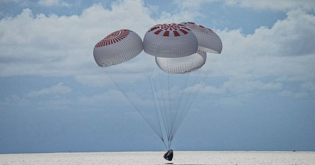 SpaceX's Inspiration4 crew returns to Earth