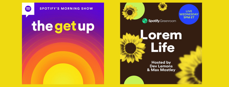 Spotify's Clubhouse clone adds six new weekly shows, some that tie to Spotify playlists –