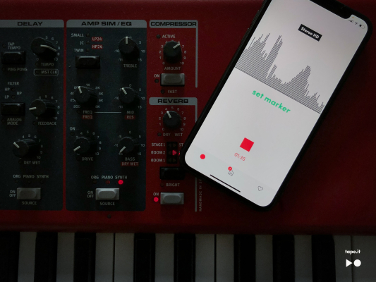 Tape It launches an A.I.-powered music recording app for iPhone –