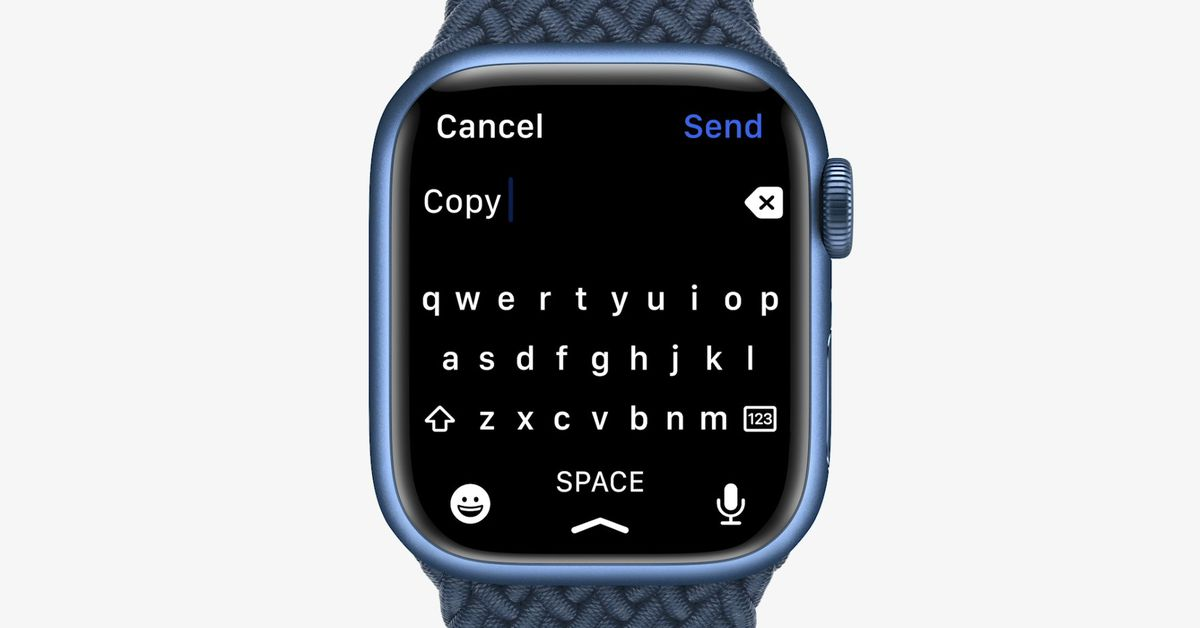 The bitter lawsuit hanging over the Apple Watch's new swipe keyboard