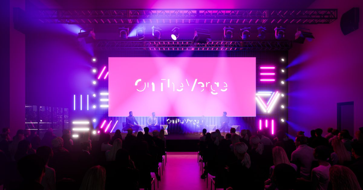 On The Verge is happening October 22nd and 23rd, and you're invited